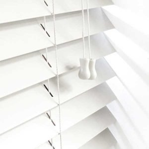 White Wooden Venetian Blind