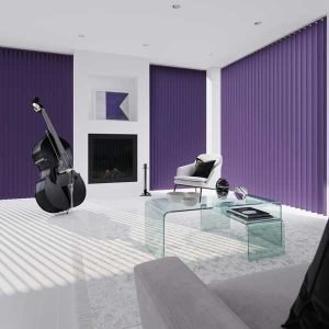 Vertical Fabric Blinds for Windows