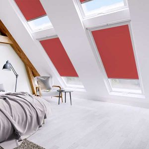 Blackout velux window roller blinds